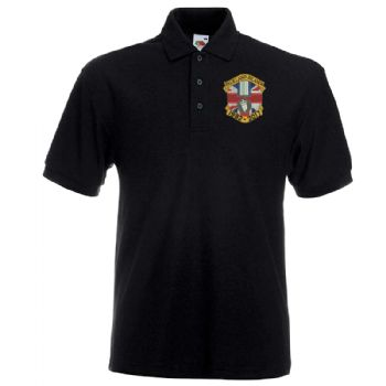 Operation Banner / Falklands Medal Embroidered polo shirt